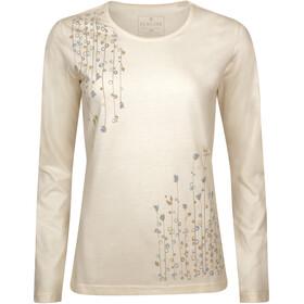 Elkline Dots T-shirt à manches longues Femme, creme